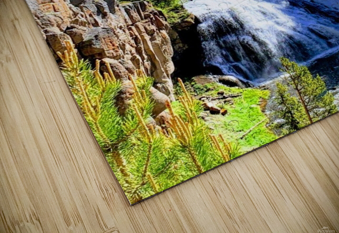 Majestic Waters HD Sublimation Metal print