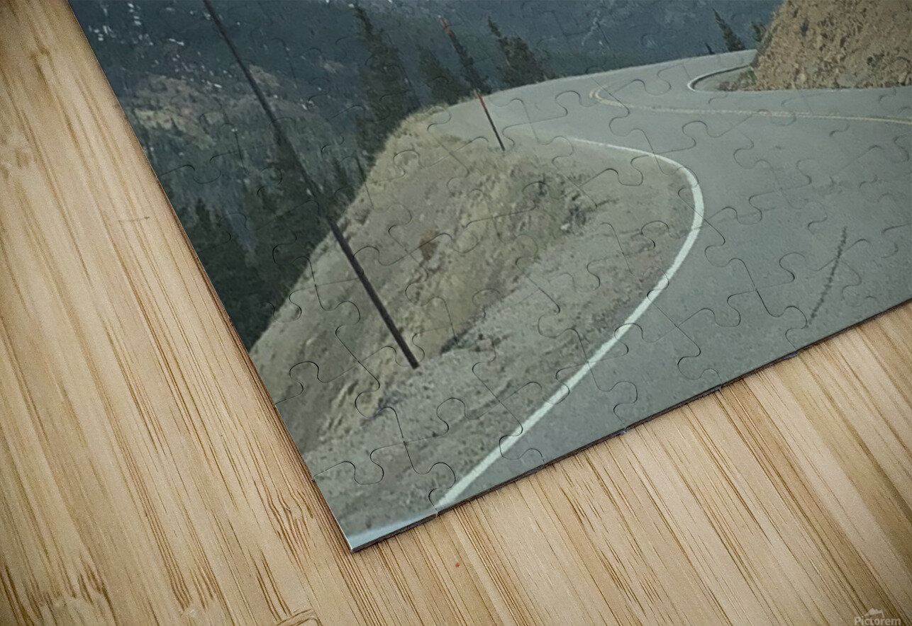 Old Country Road...Up In the Mountains HD Sublimation Metal print