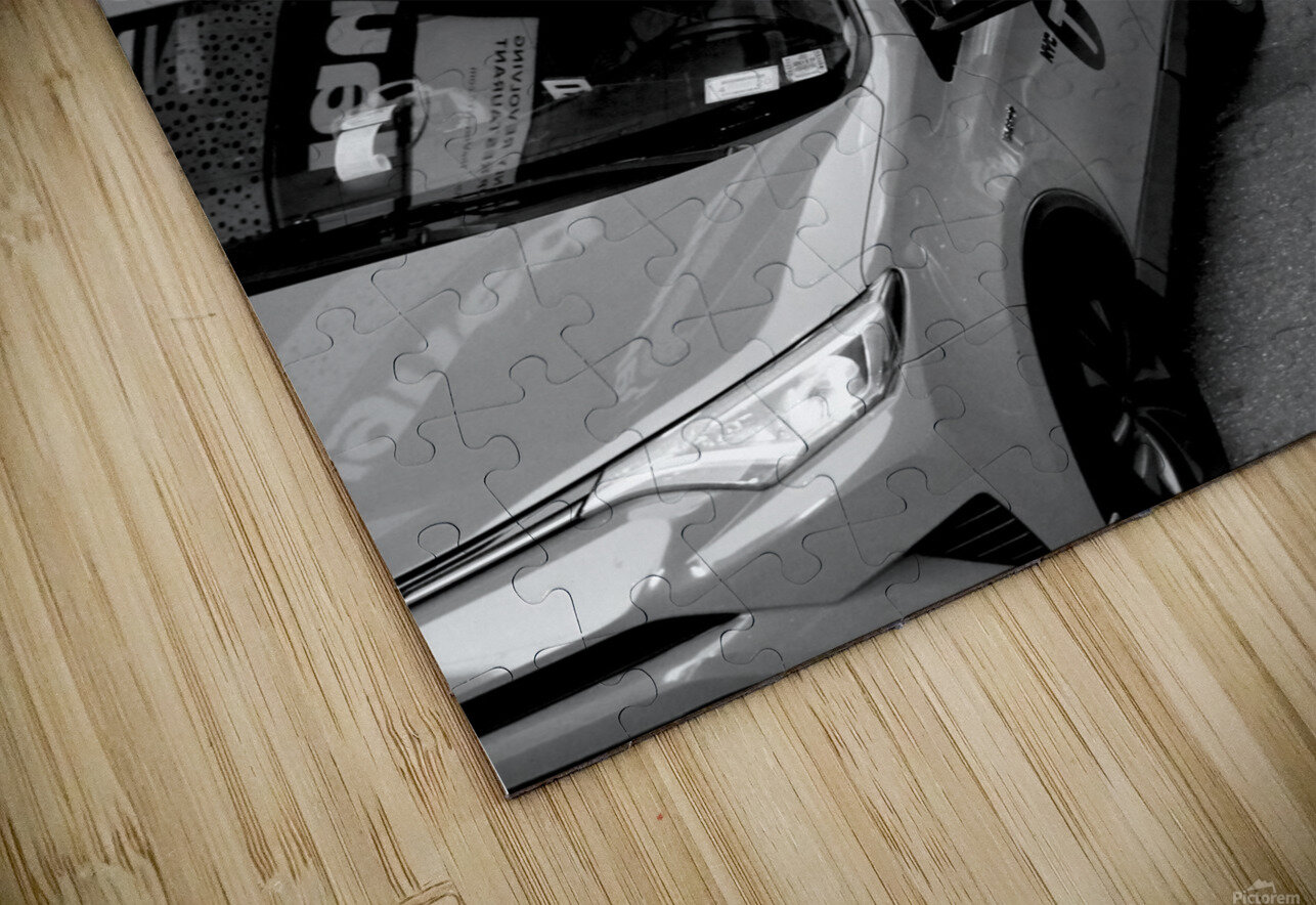 New York Taxis HD Sublimation Metal print
