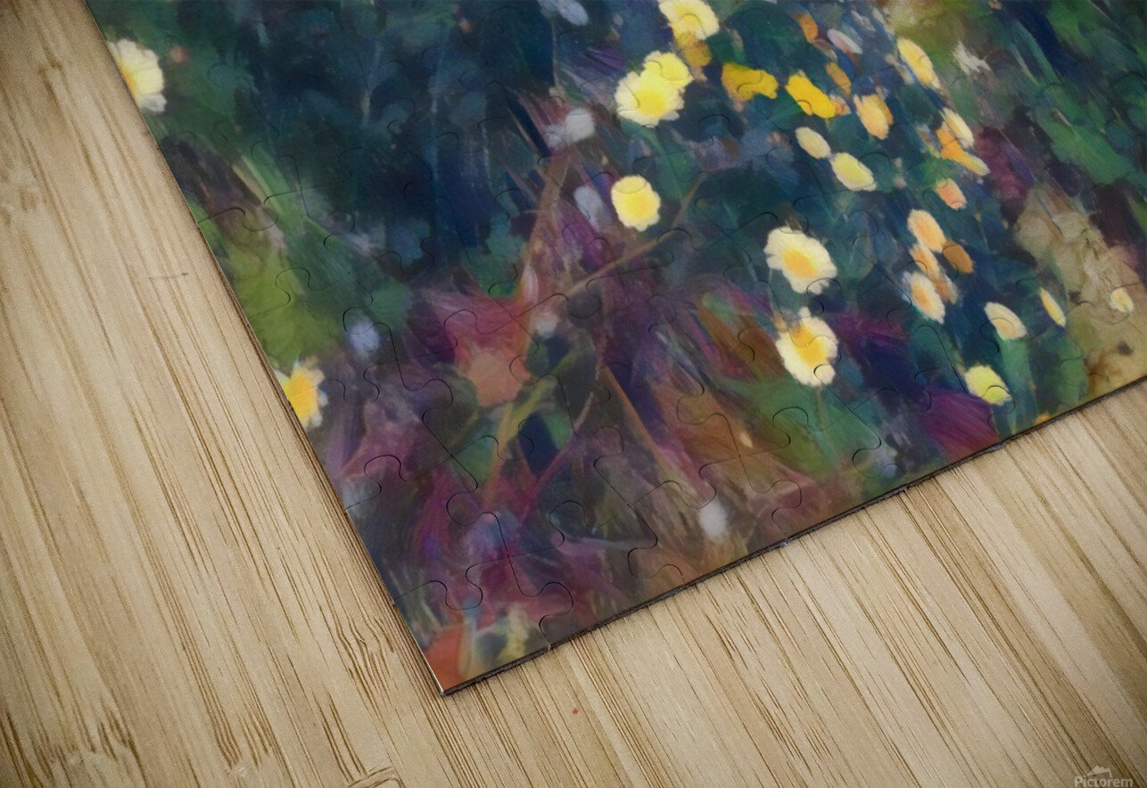 Spring daisies HD Sublimation Metal print