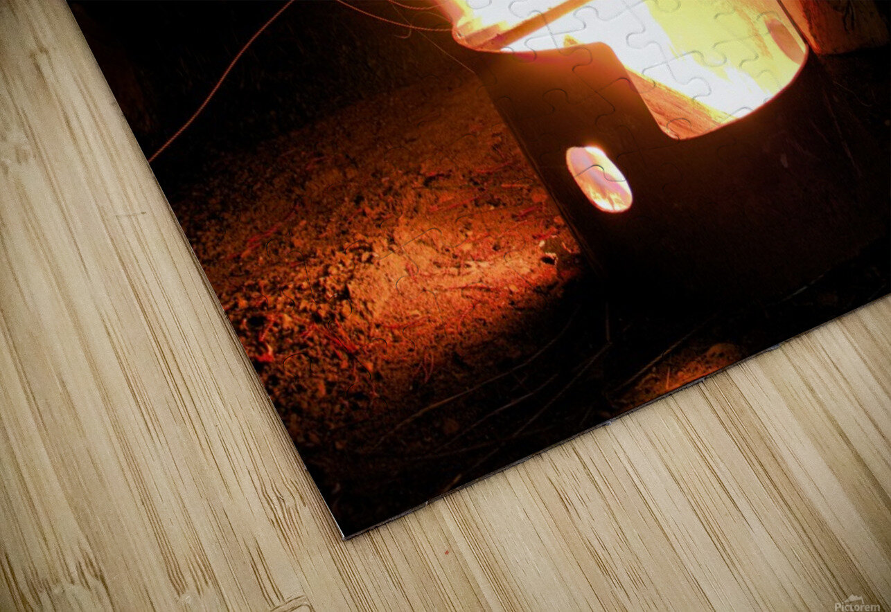 Ask the Campfire HD Sublimation Metal print