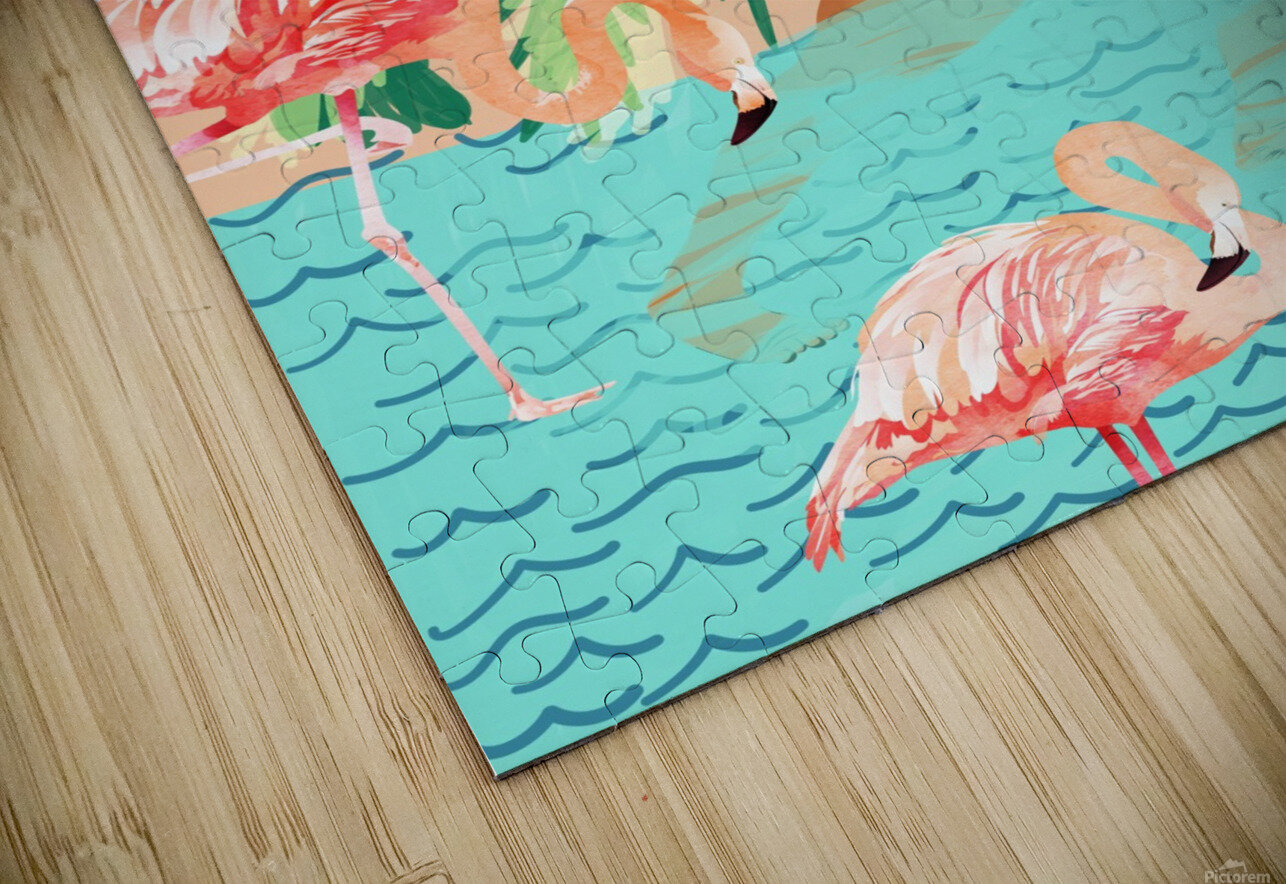 Water Yoga HD Sublimation Metal print