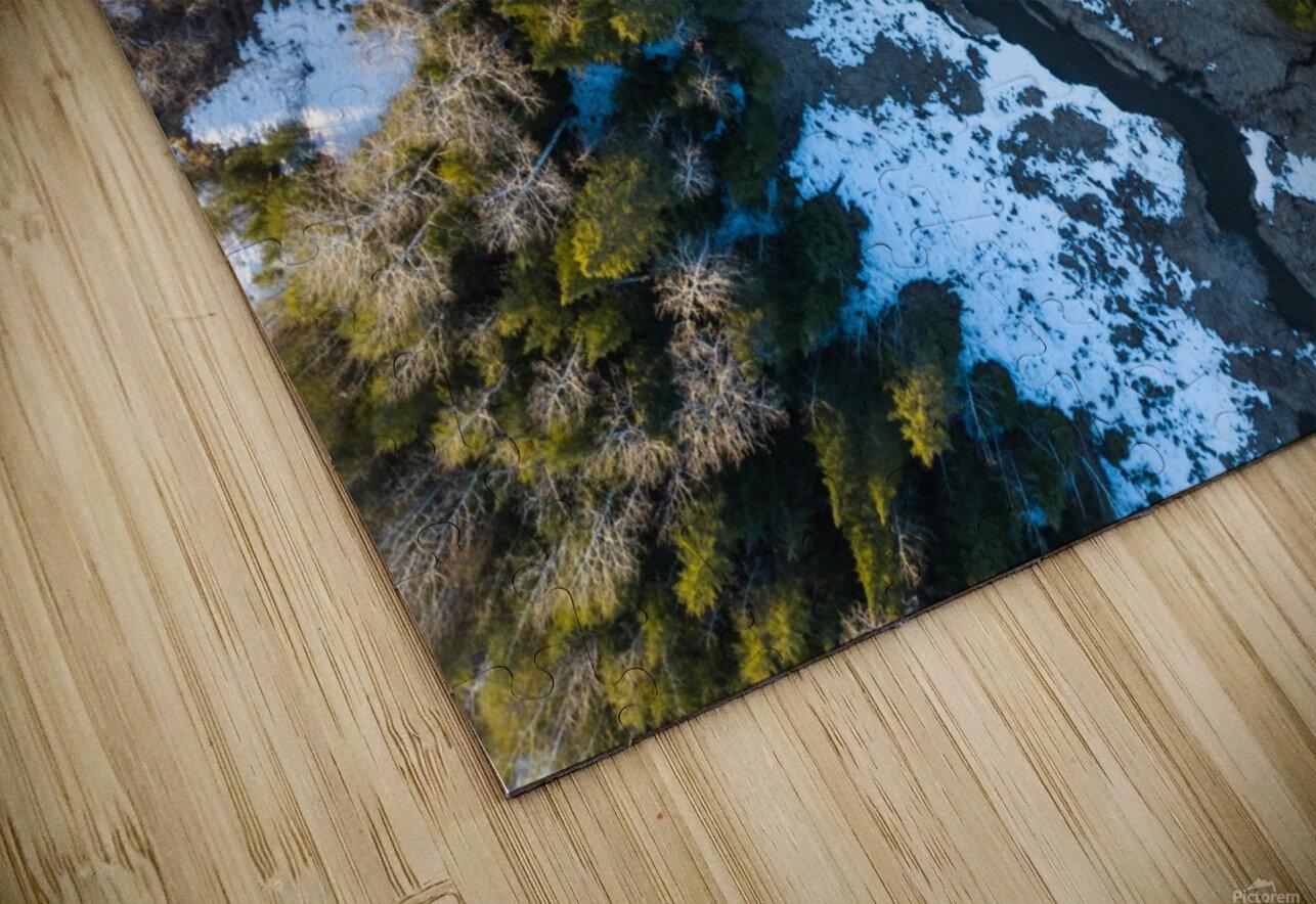 Ontario River HD Sublimation Metal print