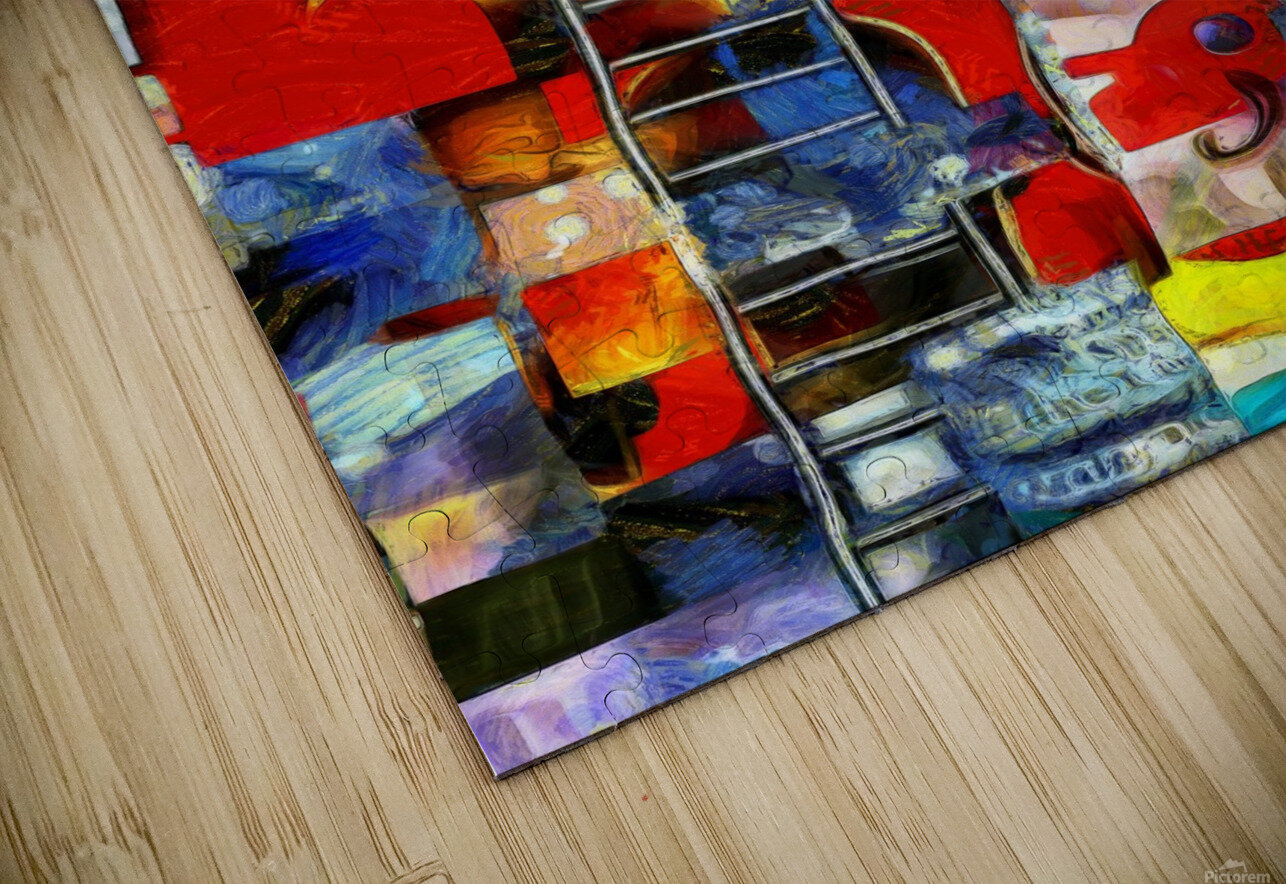 Elements of Human Consciousness HD Sublimation Metal print
