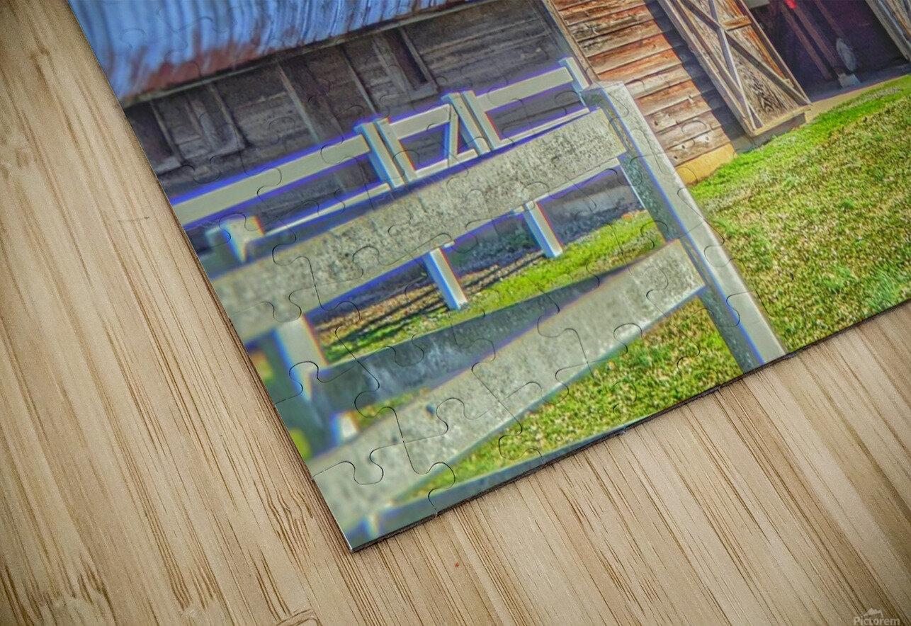 Barn Life..... HD Sublimation Metal print