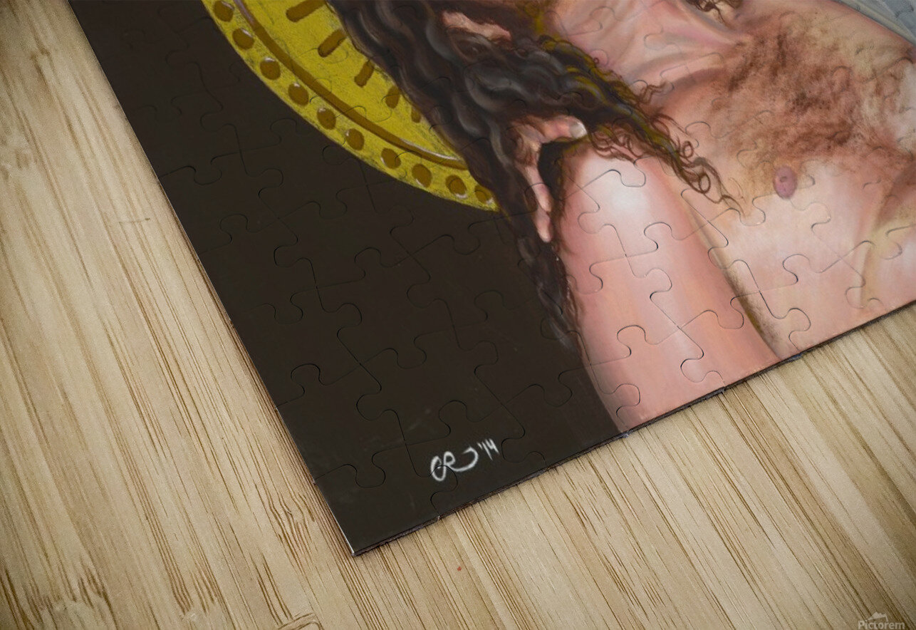 Pieta HD Sublimation Metal print