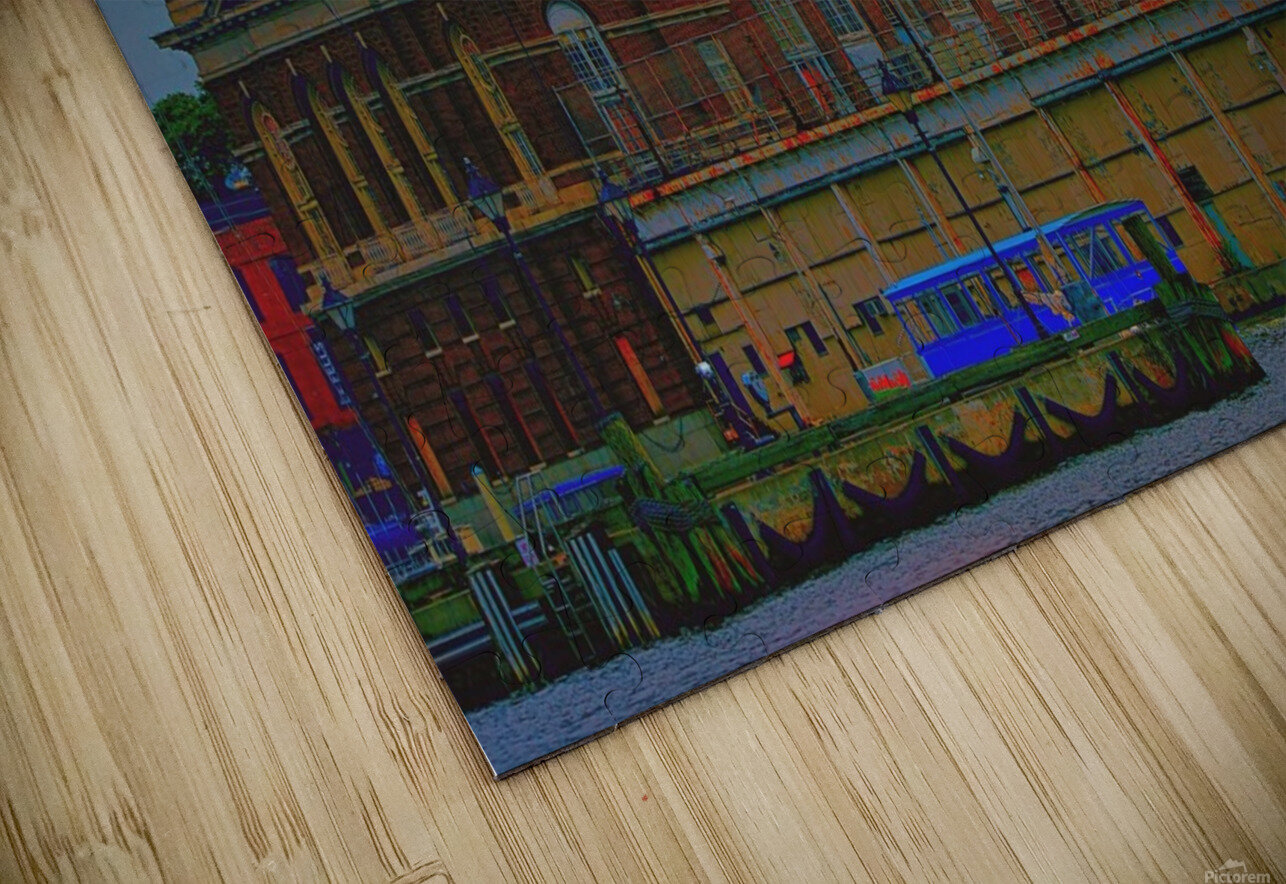 Port of Baltimore MD HD Sublimation Metal print