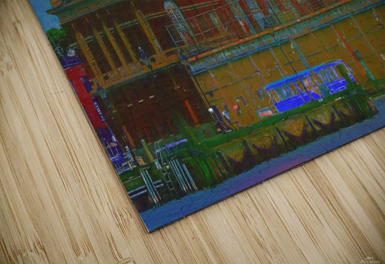 Baltimore Port Maryland  HD Sublimation Metal print