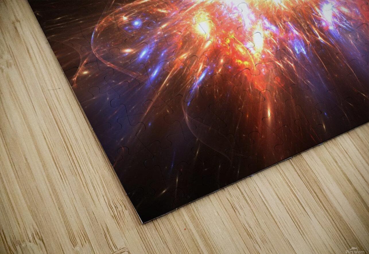 Angry galaxy e HD Sublimation Metal print