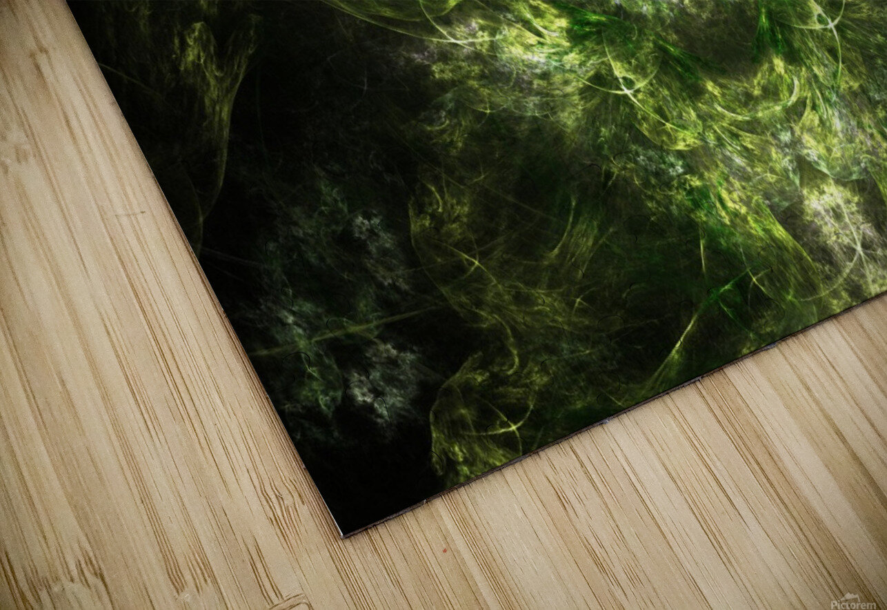 Earth Giant HD Sublimation Metal print