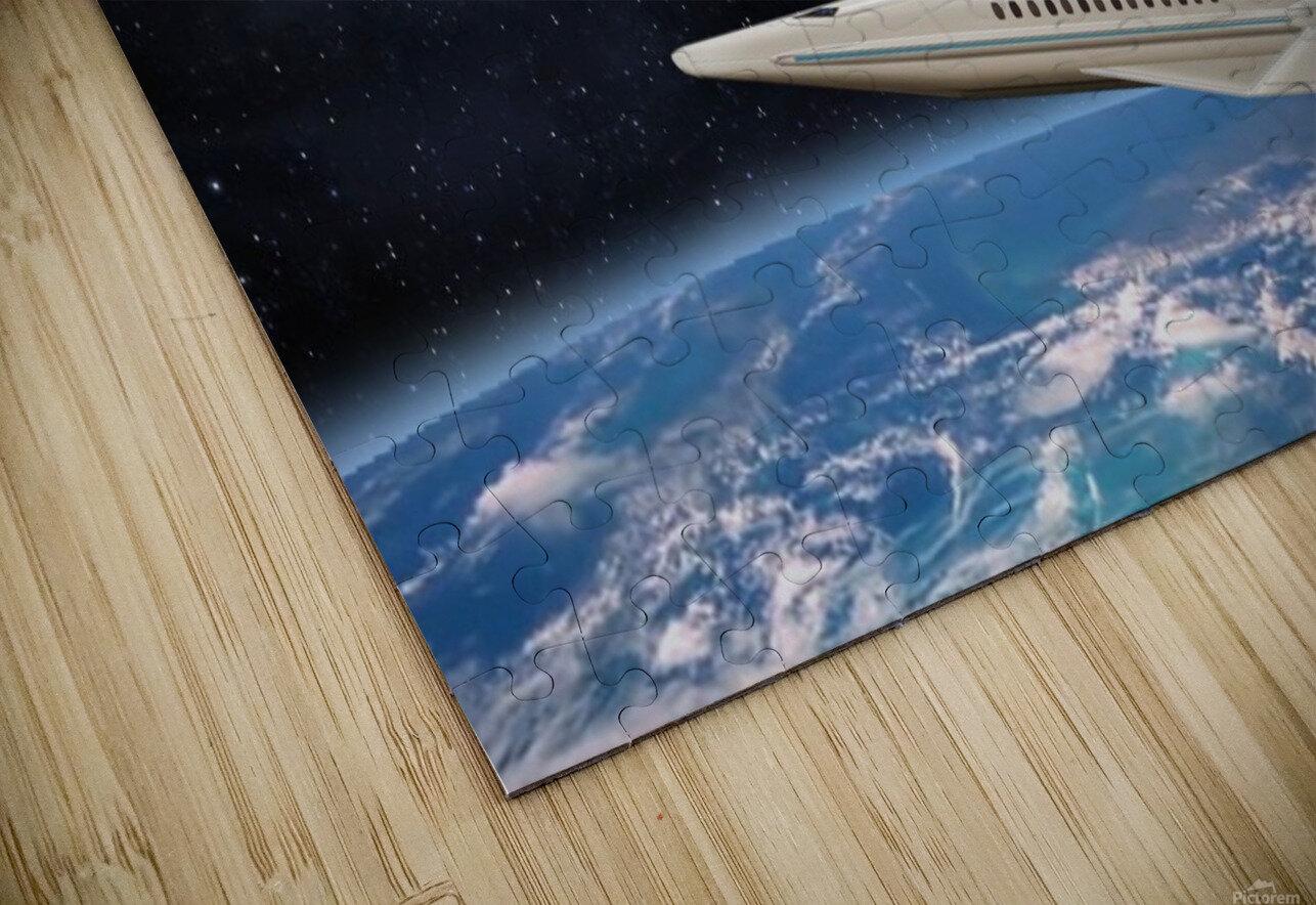 Shuttle104 HD Sublimation Metal print