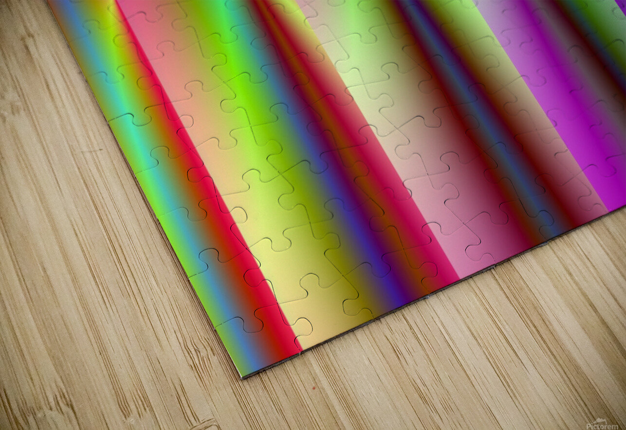 Roll_Roll_Roll HD Sublimation Metal print