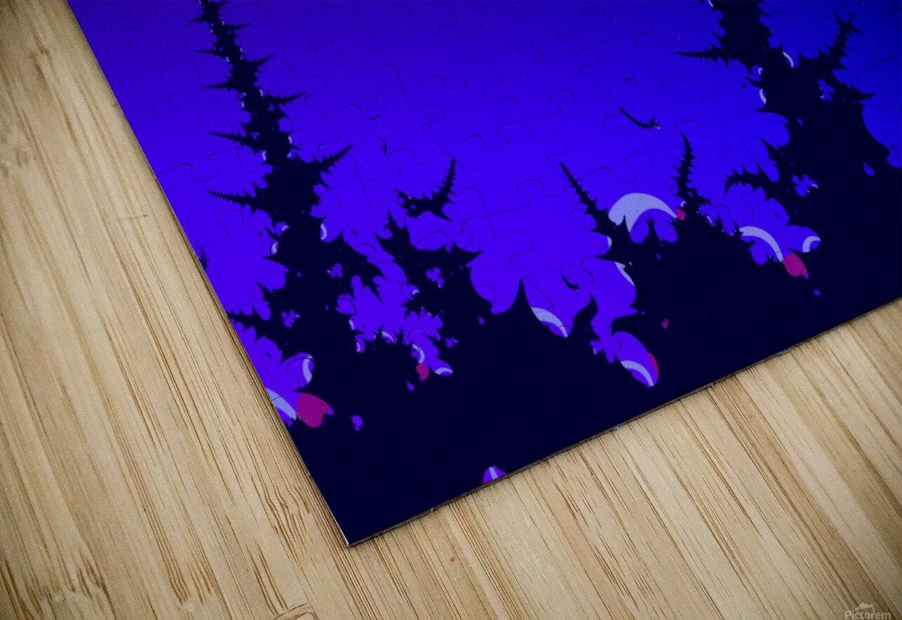 Noche_Azul HD Sublimation Metal print