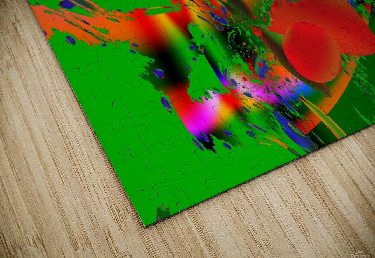 Tangerine_Island_7 HD Sublimation Metal print