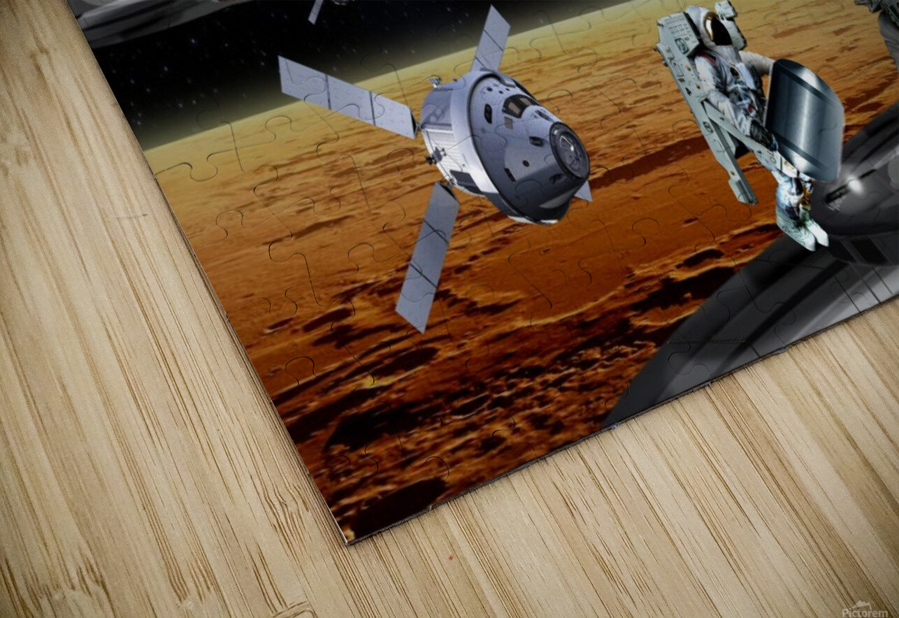 Mars Project 4 HD Sublimation Metal print