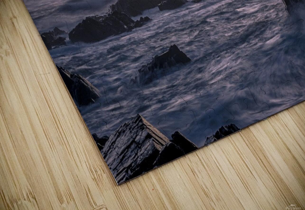 Unforgiving Seas HD Sublimation Metal print