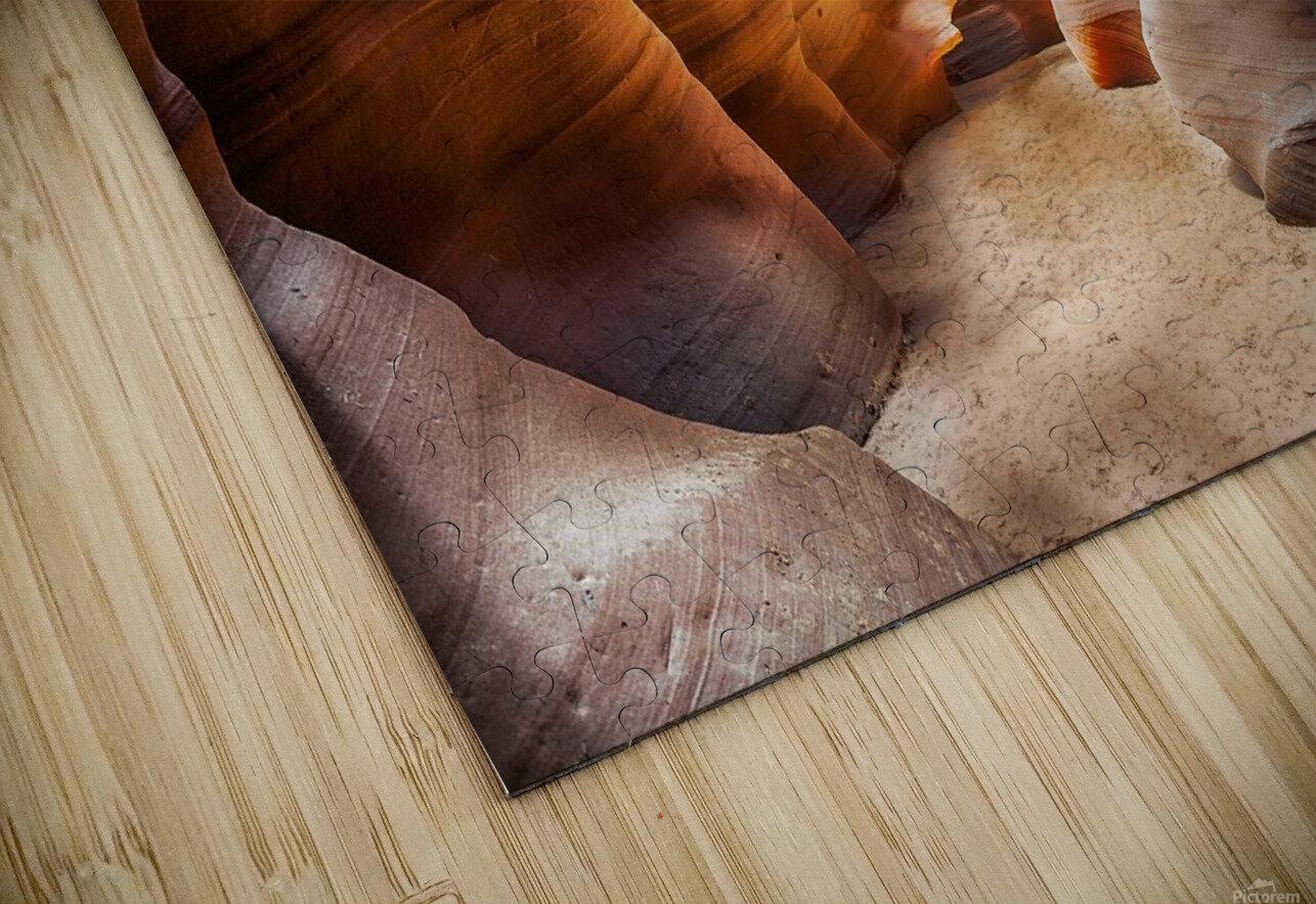Upper Antelope Canyon 9 HD Sublimation Metal print