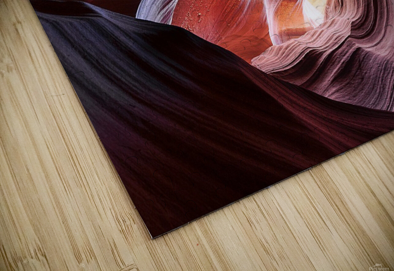 Upper Antelope Canyon 13 HD Sublimation Metal print