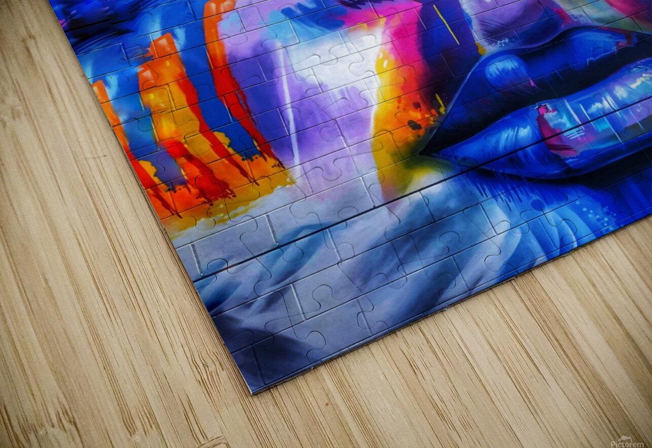 Graffiti Face - Toronto HD Sublimation Metal print