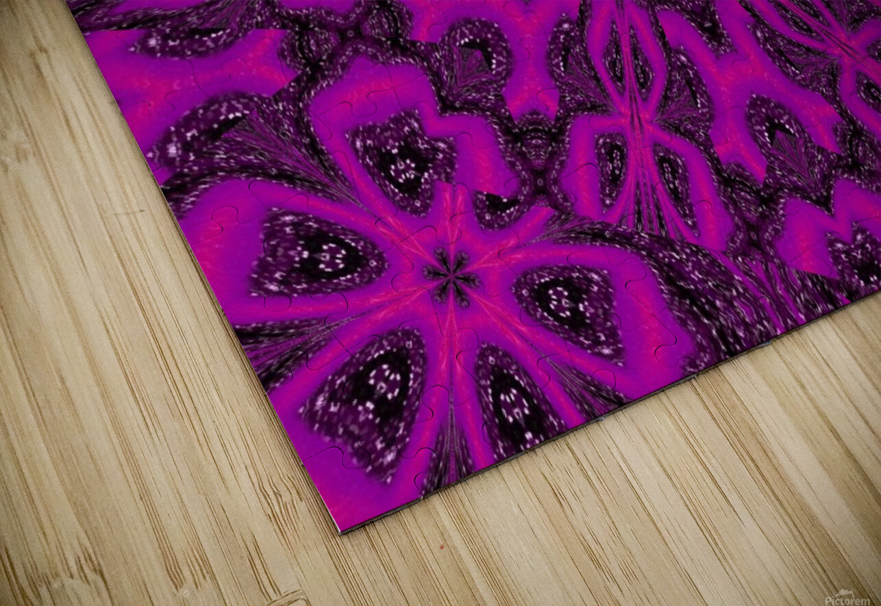 Purple Desert Song 38 HD Sublimation Metal print