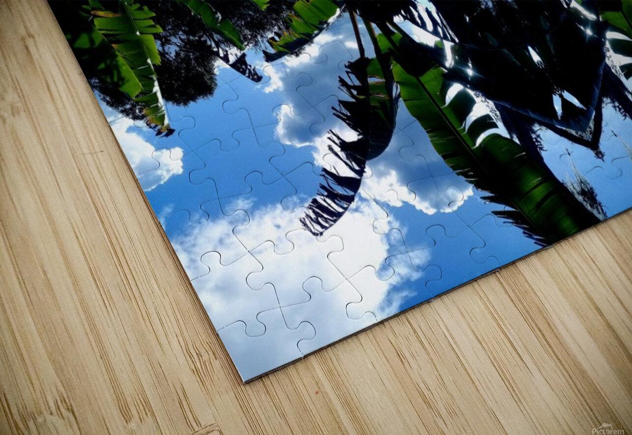 natural 3 HD Sublimation Metal print