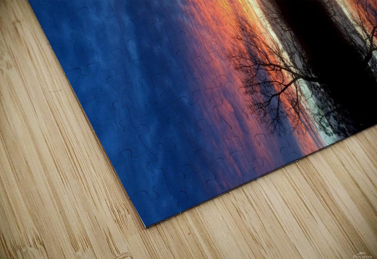 lanscape 11 HD Sublimation Metal print