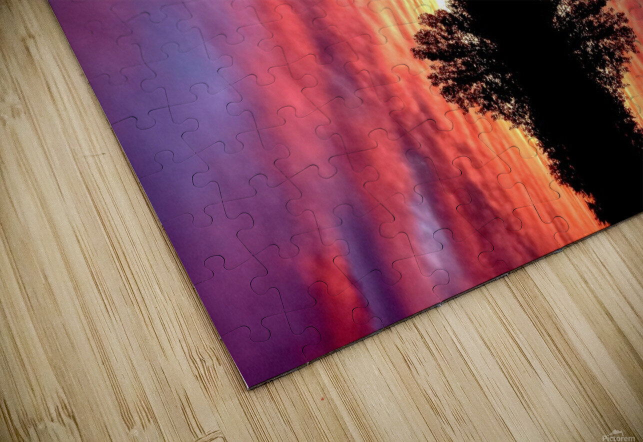 nube 43 HD Sublimation Metal print