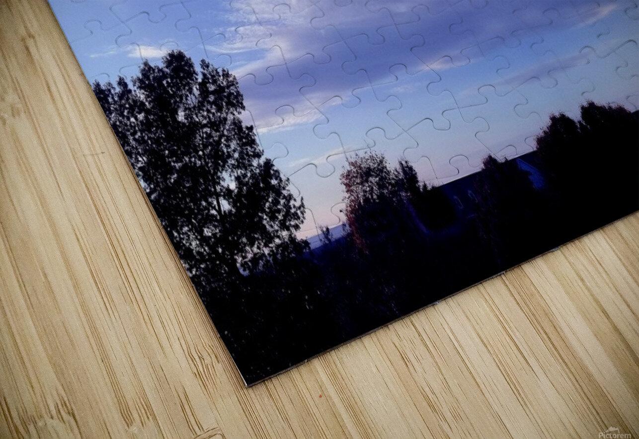 nube 44 HD Sublimation Metal print