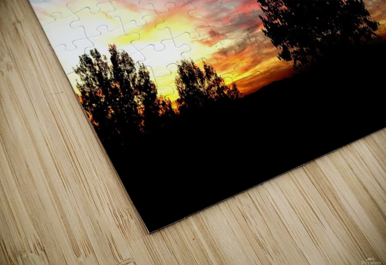 nube 58 HD Sublimation Metal print