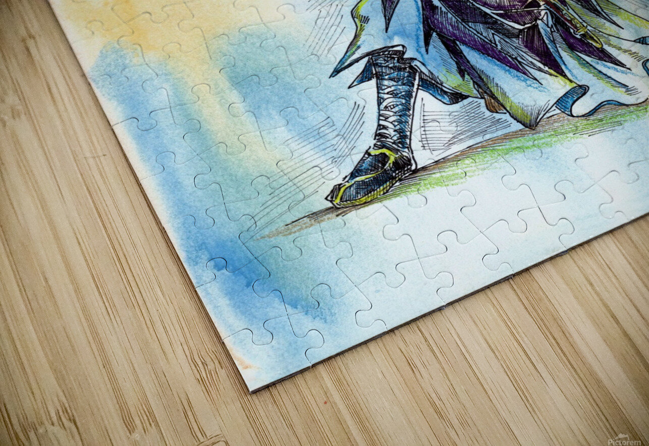 The_Warrior_s_Way HD Sublimation Metal print