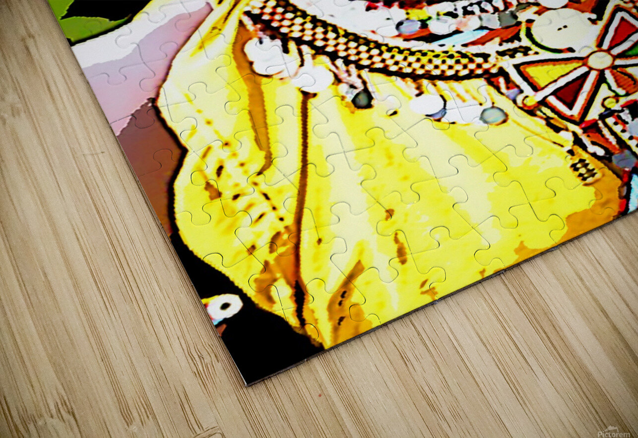 African HD Sublimation Metal print