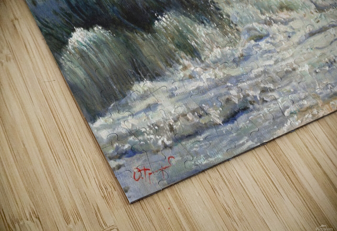 The_Wave HD Sublimation Metal print