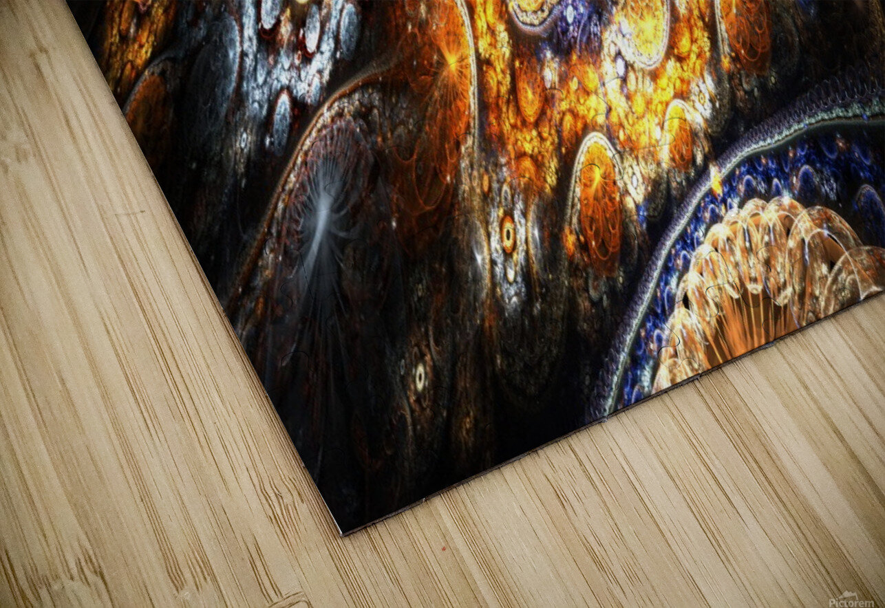 Land of pleasures HD Sublimation Metal print