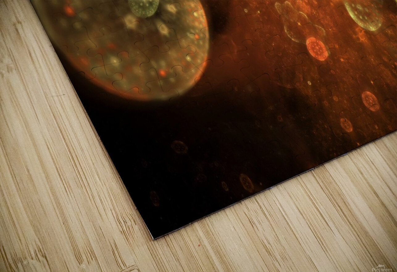 Ares HD Sublimation Metal print