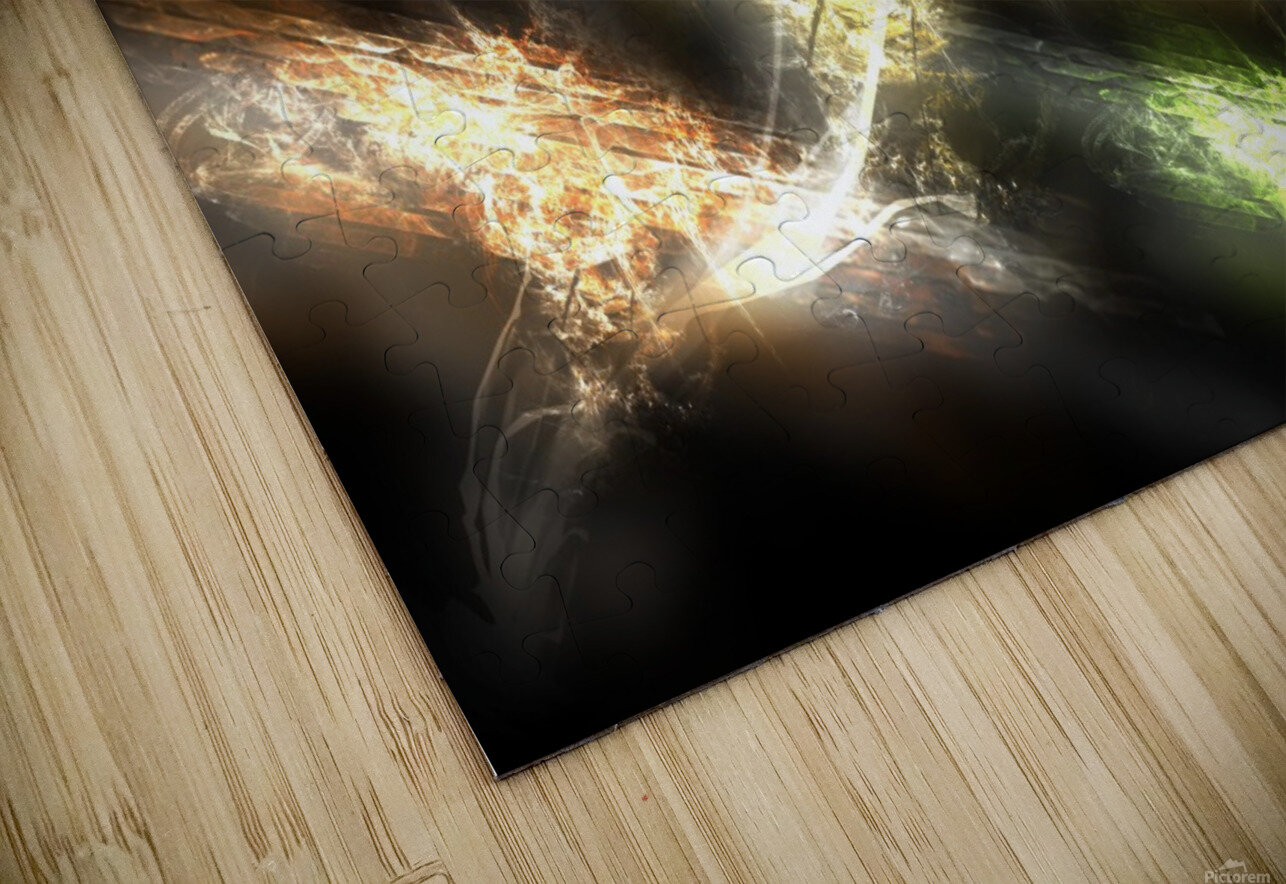 Path to nowhere HD Sublimation Metal print