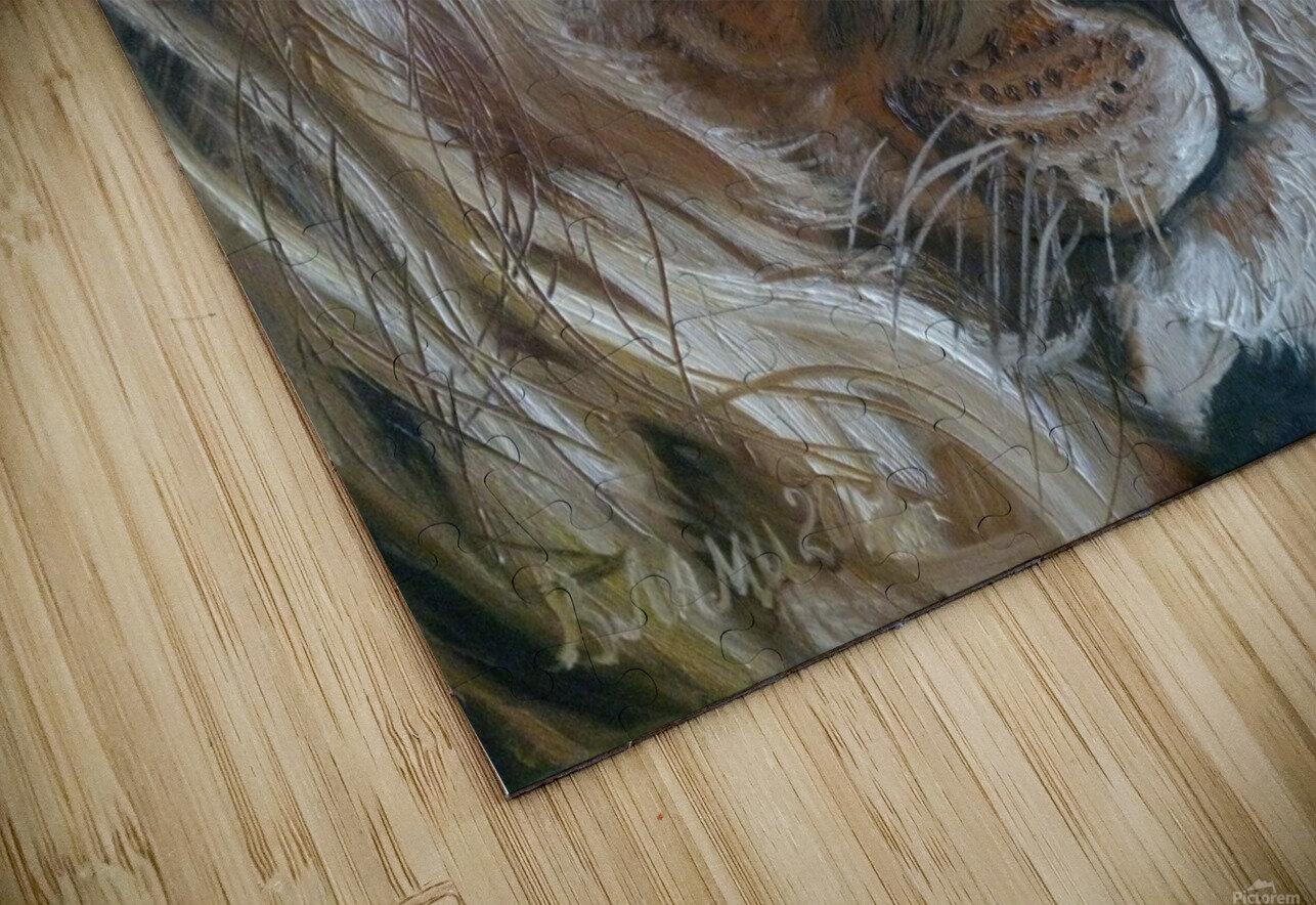 Leos. Tenderness. HD Sublimation Metal print