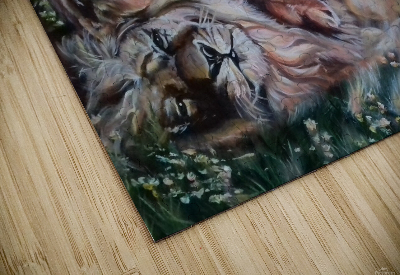 Leos. Happiness.  HD Sublimation Metal print