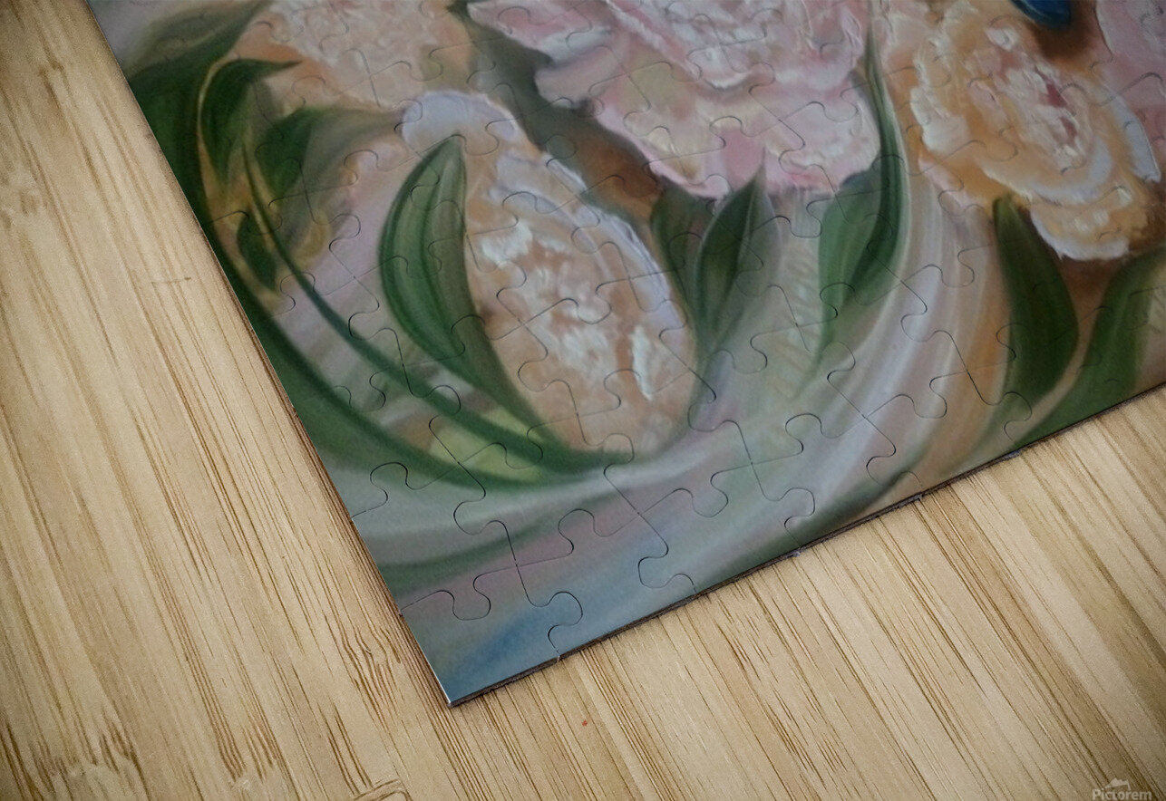 Flowers. Miracle. HD Sublimation Metal print