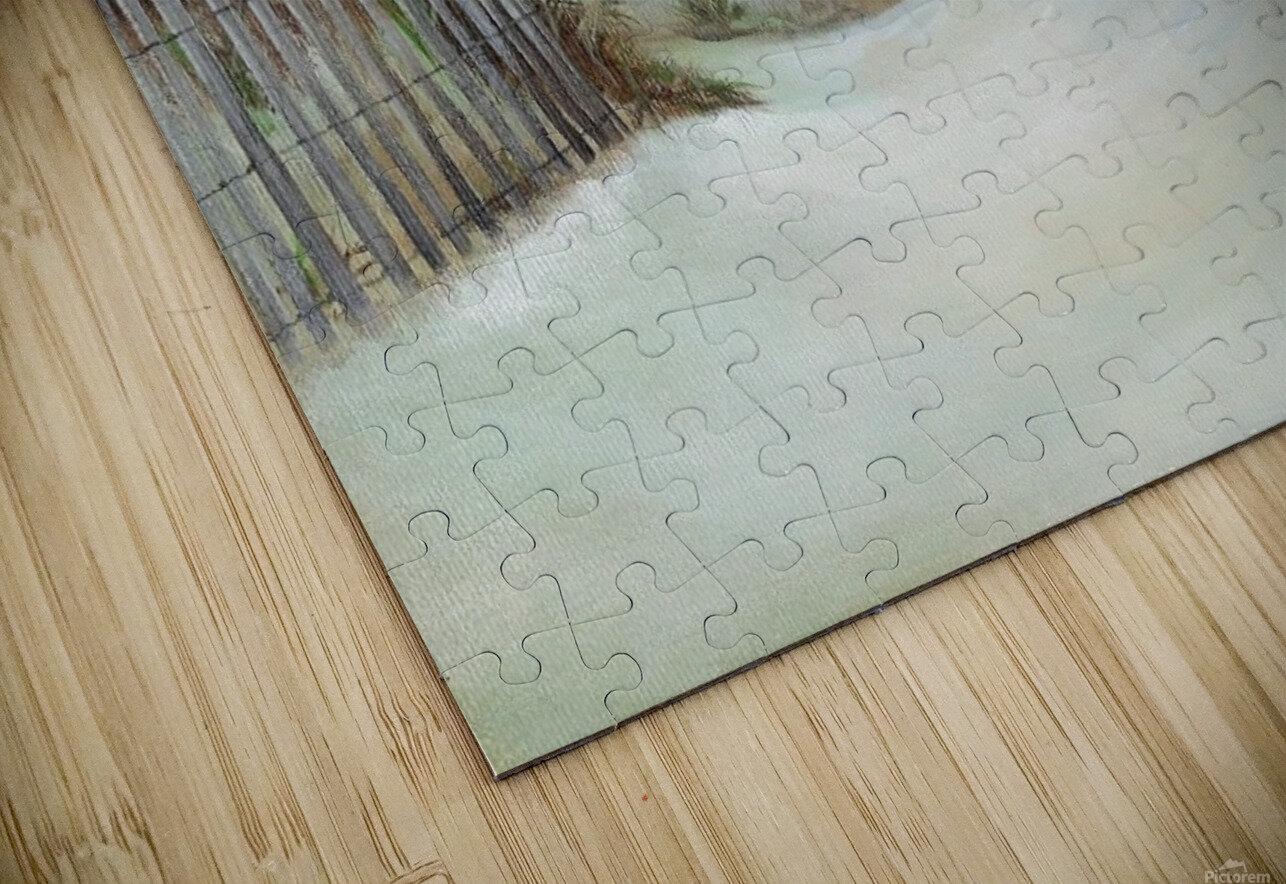 Sand dunes HD Sublimation Metal print