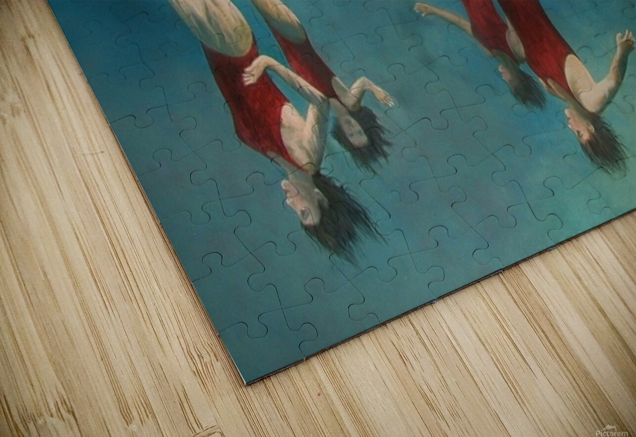 swimmers HD Sublimation Metal print