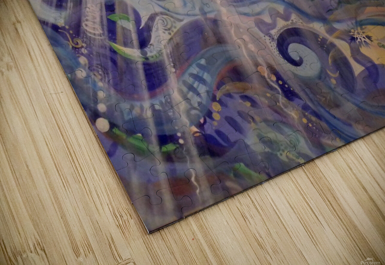 Relaxation HD Sublimation Metal print
