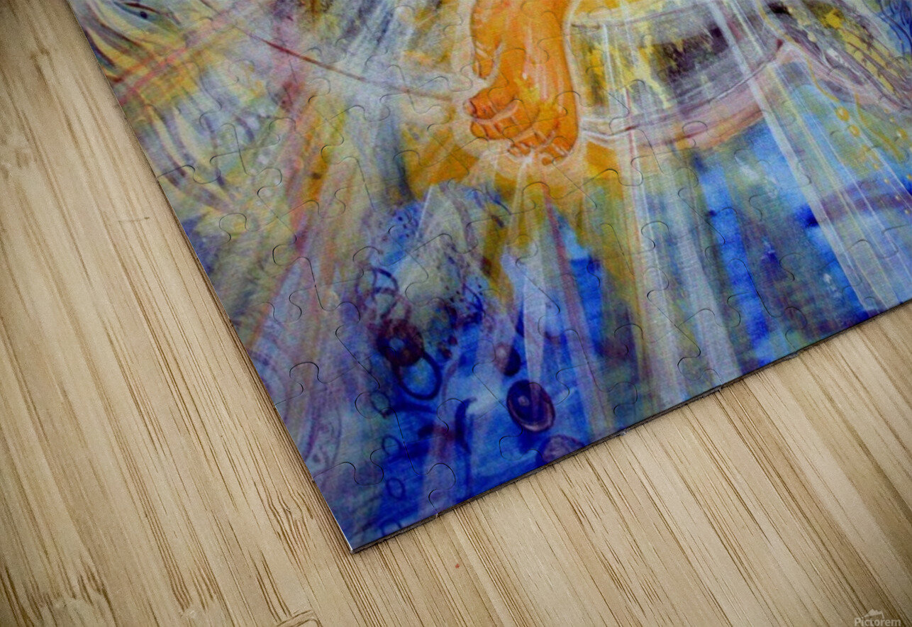 Love of the Earth and the Sun HD Sublimation Metal print