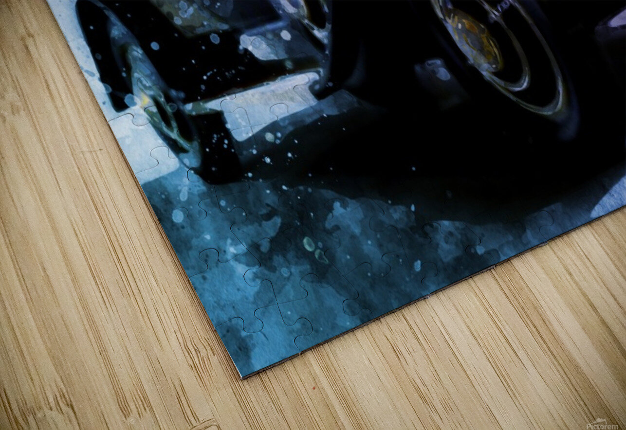 car vintage HD Sublimation Metal print