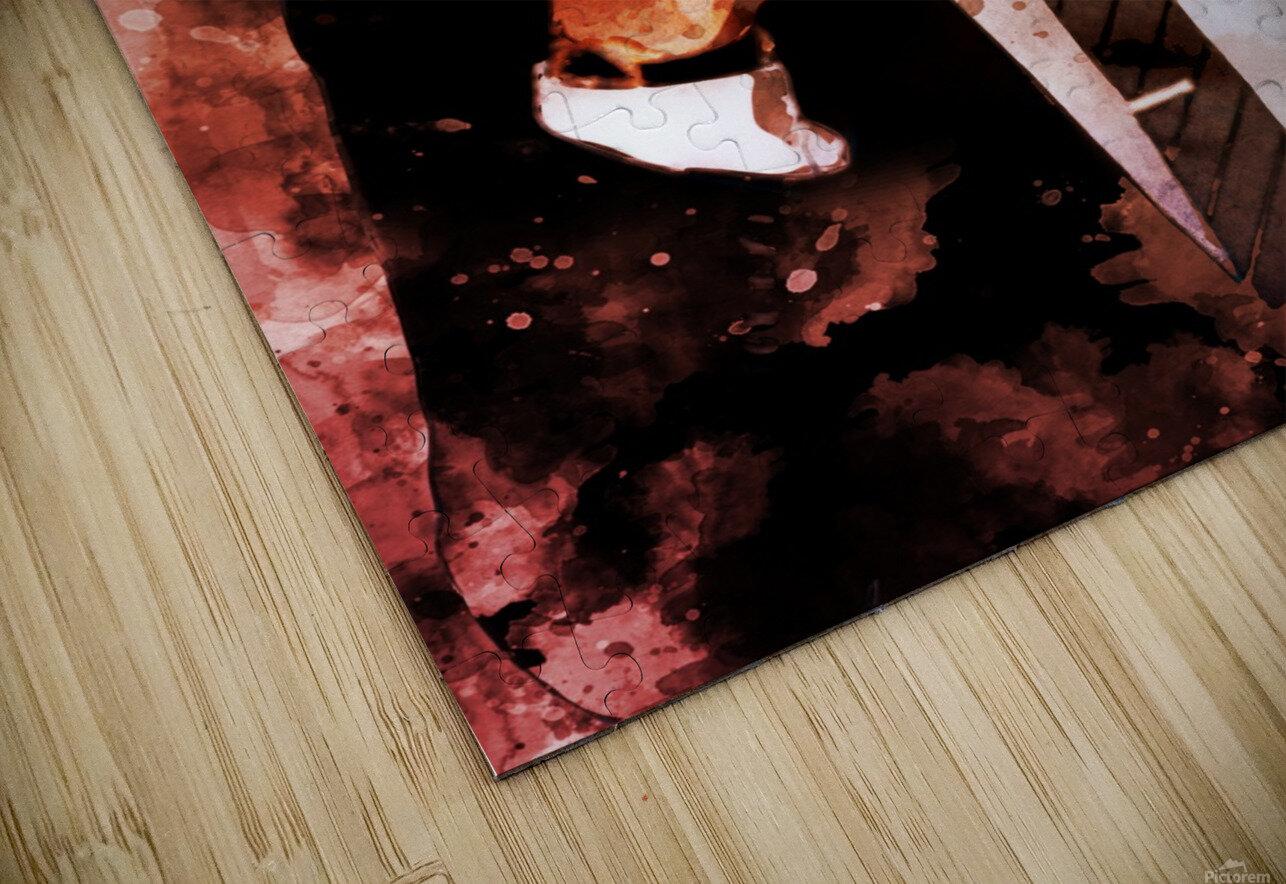 David beckham HD Sublimation Metal print