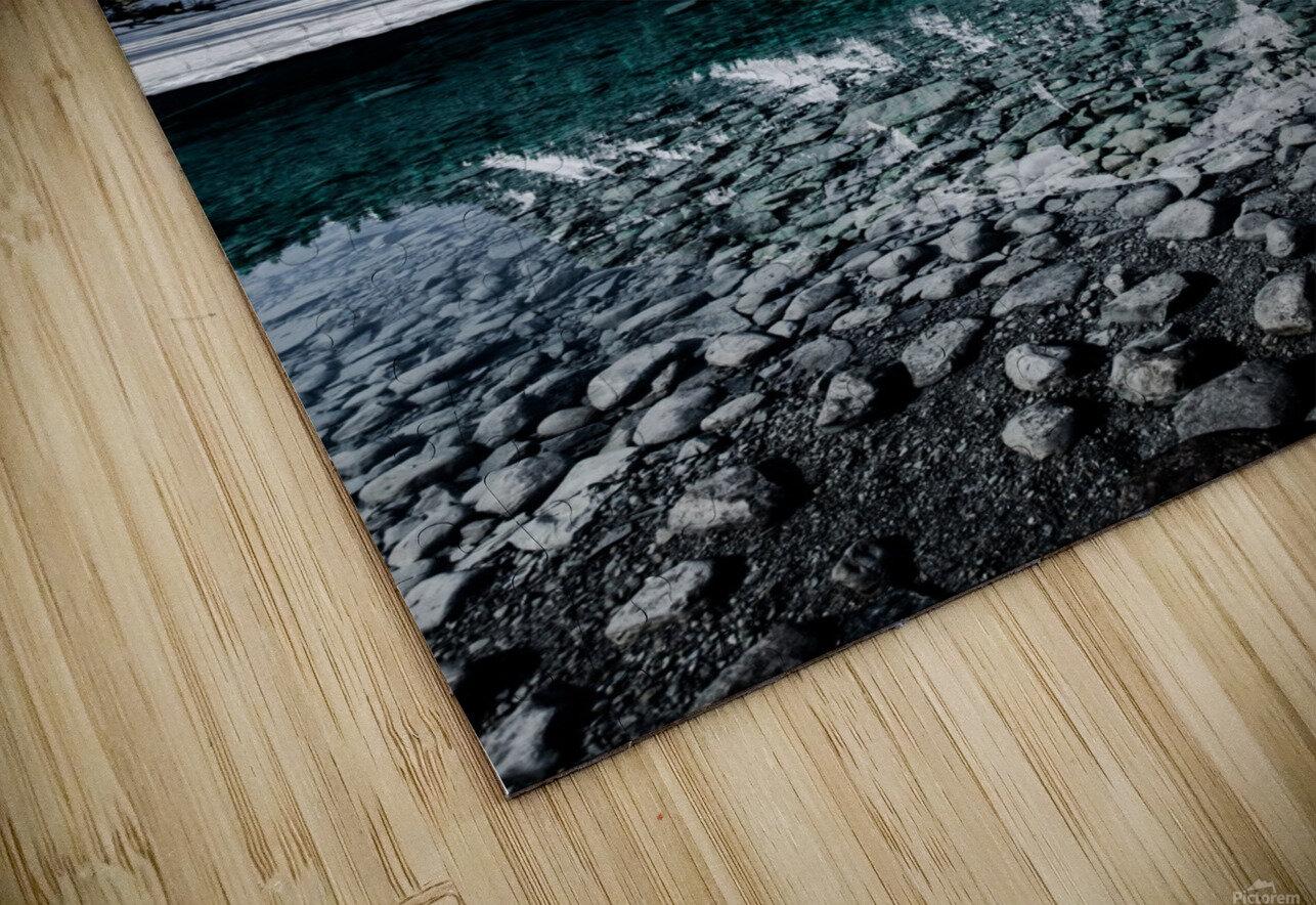 Lake Louise Reflection HD Sublimation Metal print