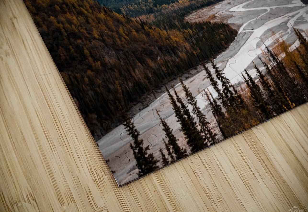 Autumn Landscape Impression de sublimation métal HD