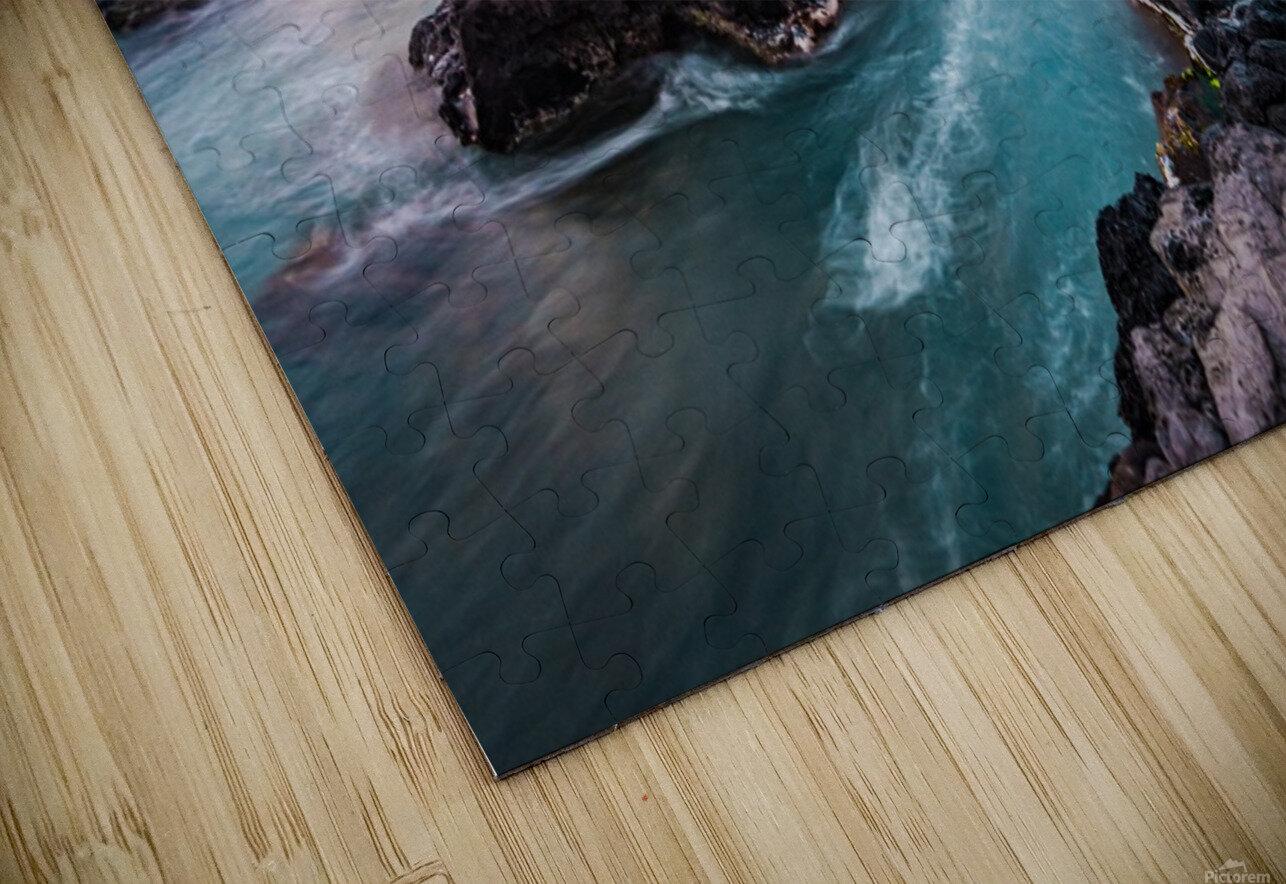 Pastel Waters HD Sublimation Metal print