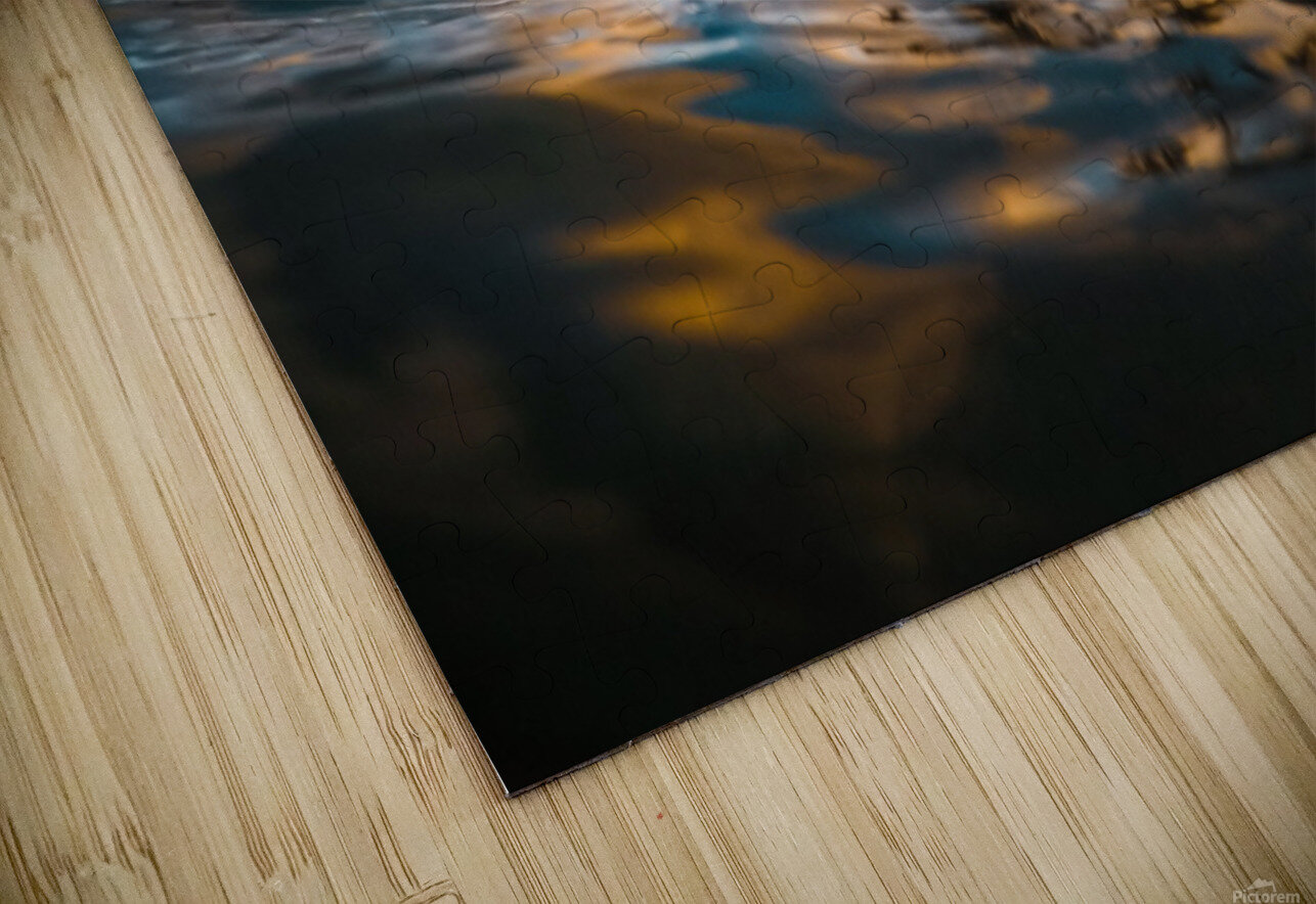 Lost at Sea HD Sublimation Metal print