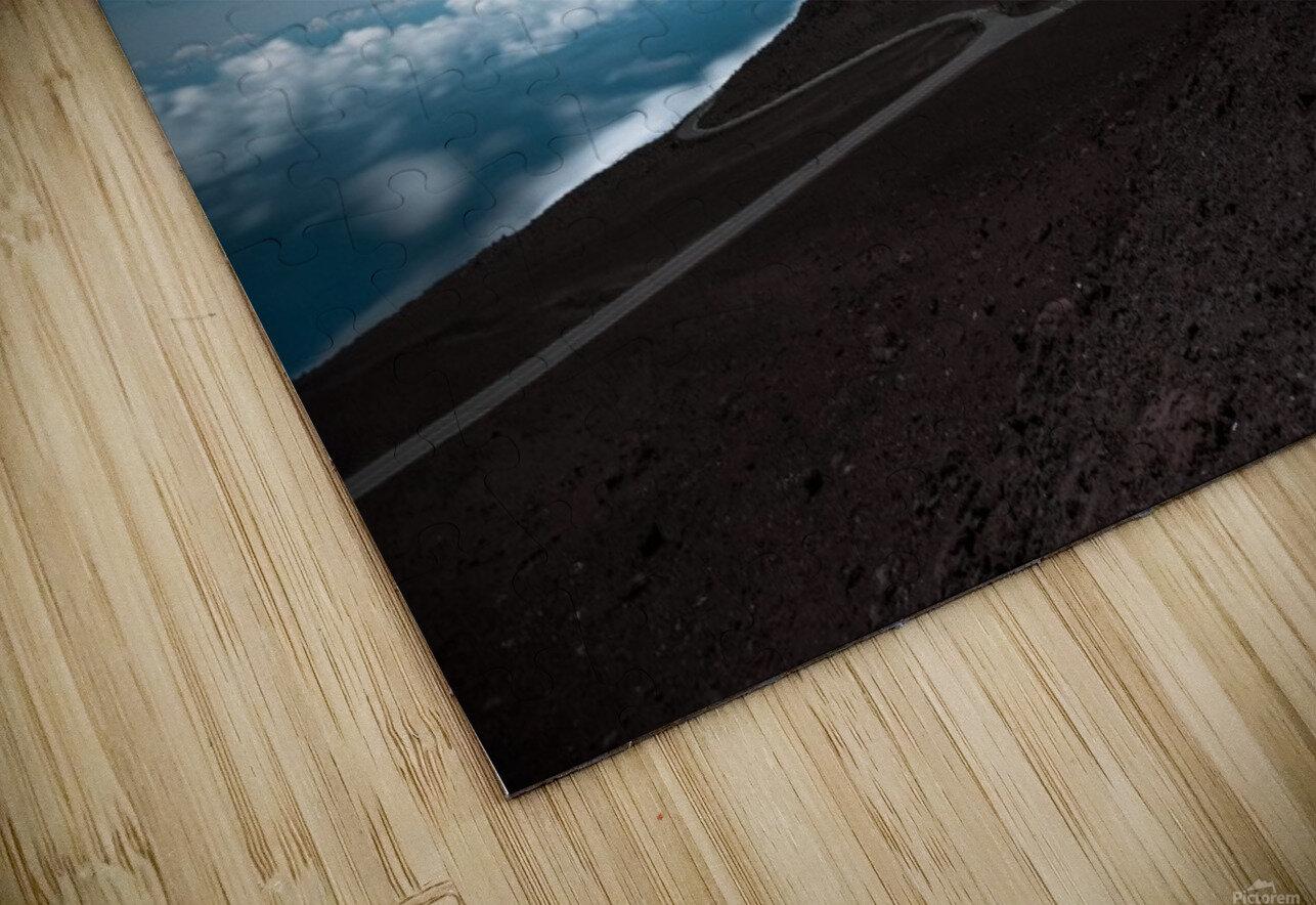 Haleakala at Night HD Sublimation Metal print