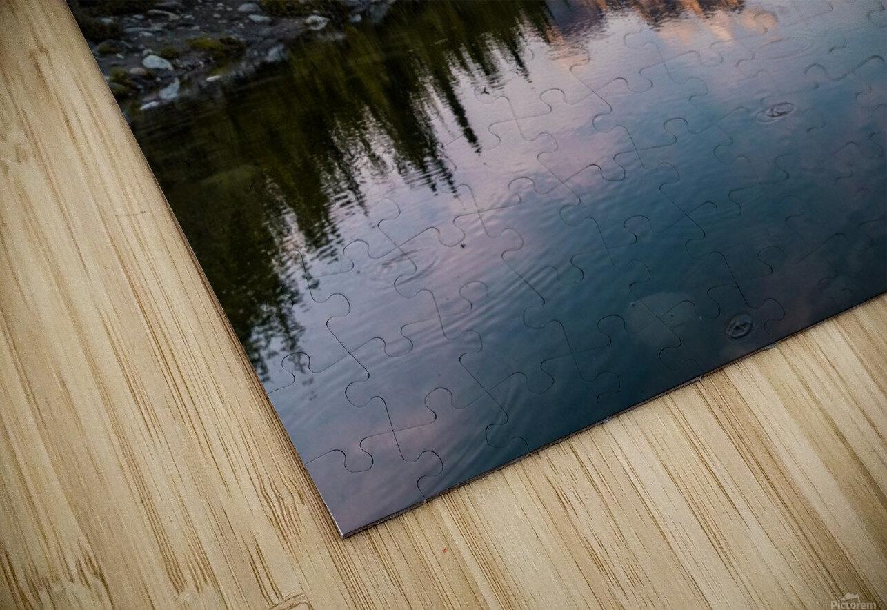 Alaskan Reflection HD Sublimation Metal print